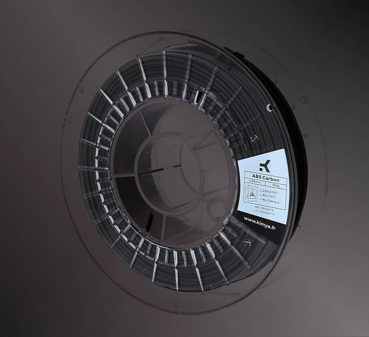 Material de impresión 3D Kimya ABS Carbon