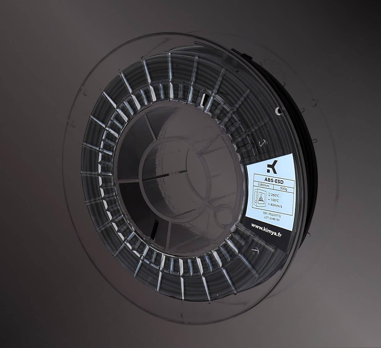 Kimya ABS ESD Material de impresión 3D