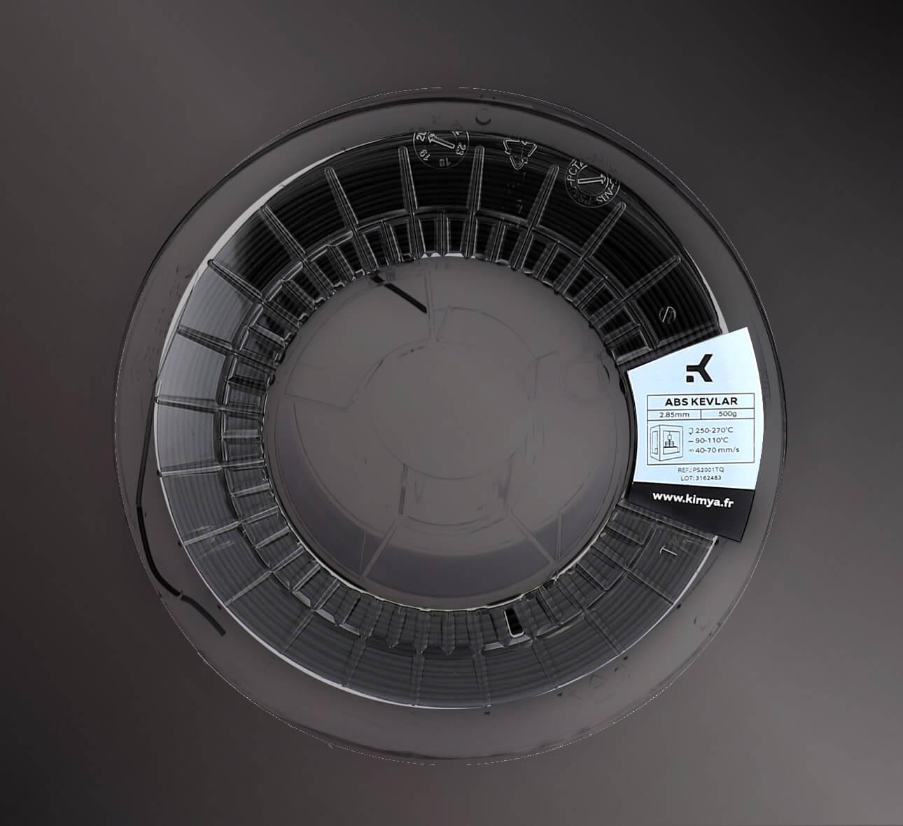 Kimya ABS Kevlar Material de impresión 3D