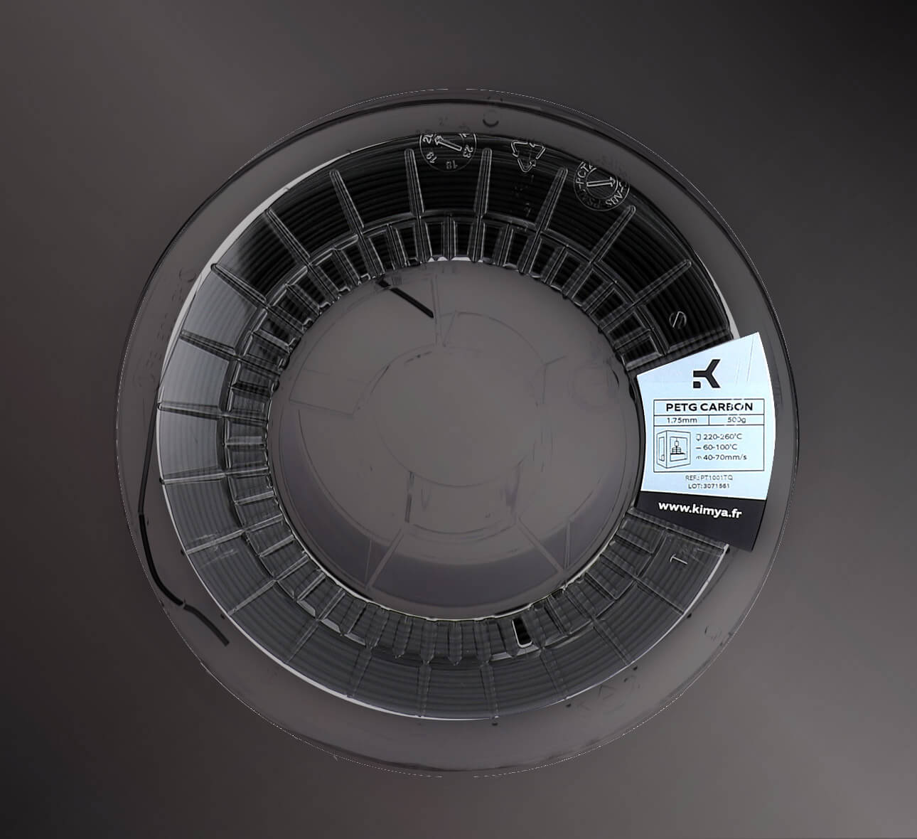Kimya PETG Carbon - Material de impresión 3D