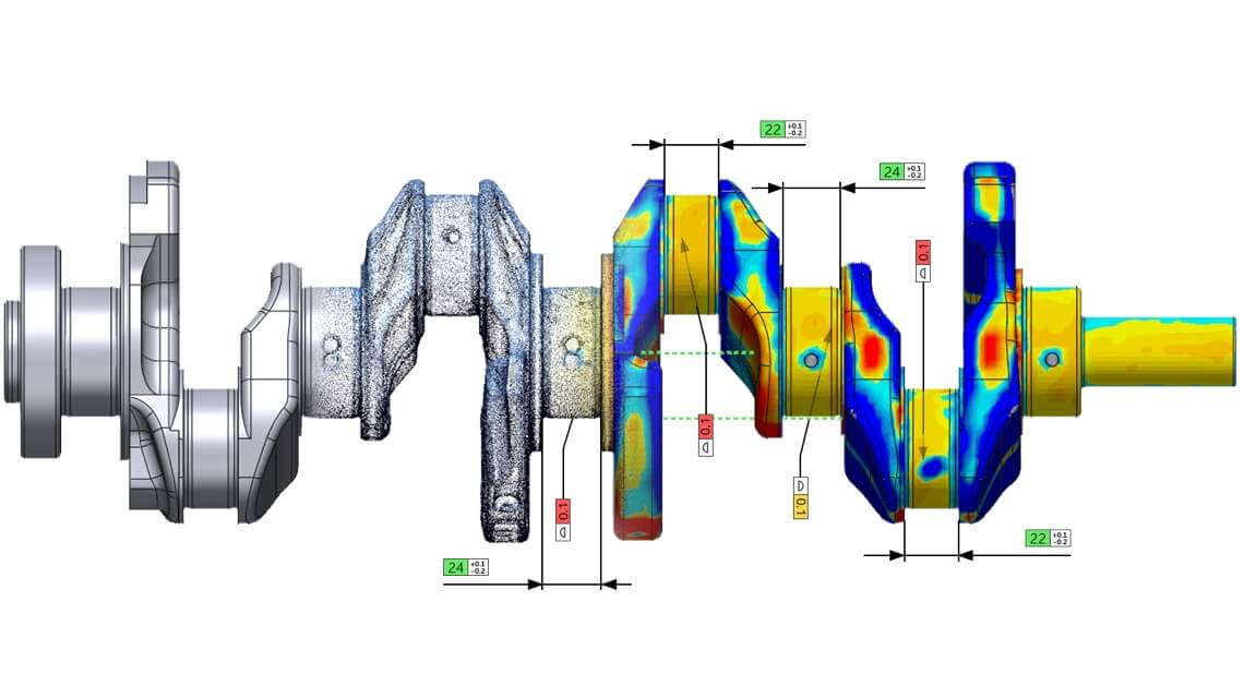 Metrología. Control de calidad 3D