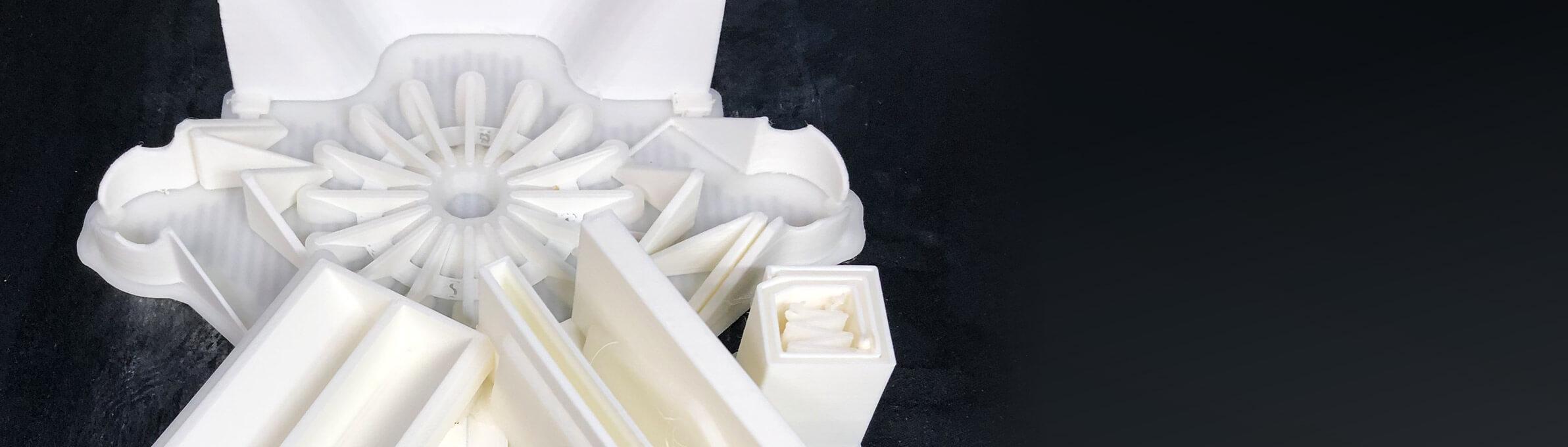 Hemos fabricado la geometría más difícil de imprimir en ABS puro